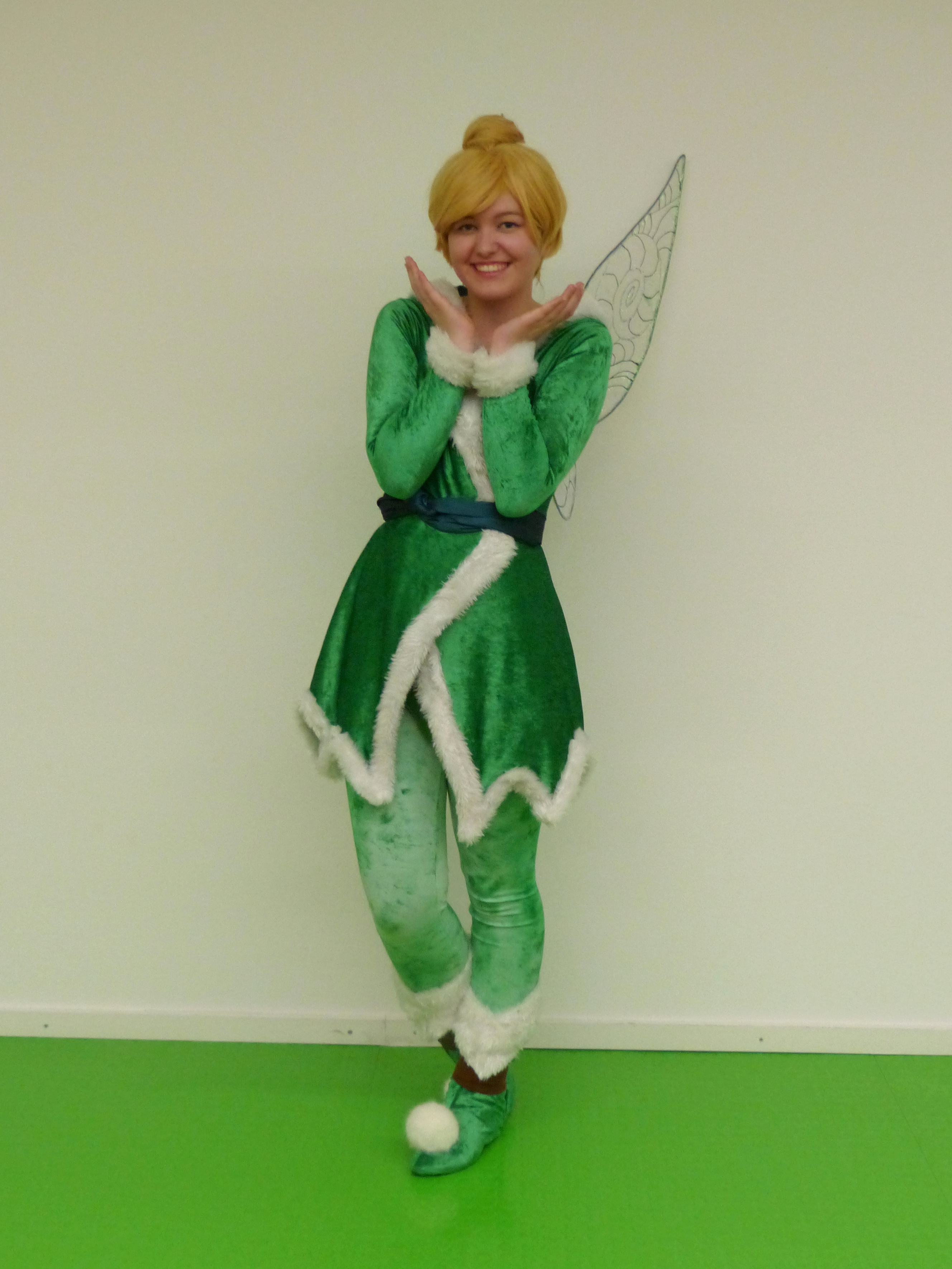 Madeleine als Tinkerbell (Winterversion) aus Tinkerbell