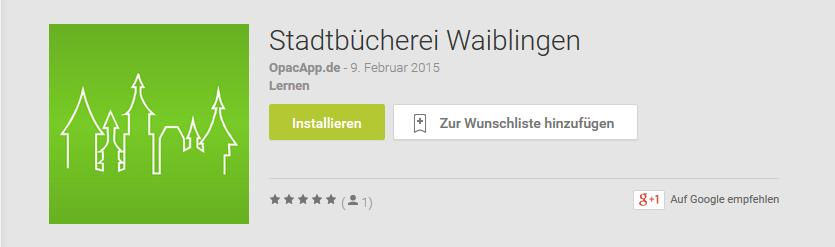 Stadtbuecherei-App