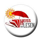 HEISS AUF LESEN Logo