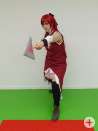 Jasmin als Kyouko Sakura aus Puella Magi Madoka Magica