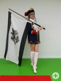 Nathalie als weibliche Preußen aus Hetalia