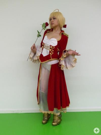 Stella als Saber aus Fate/EXTELLA